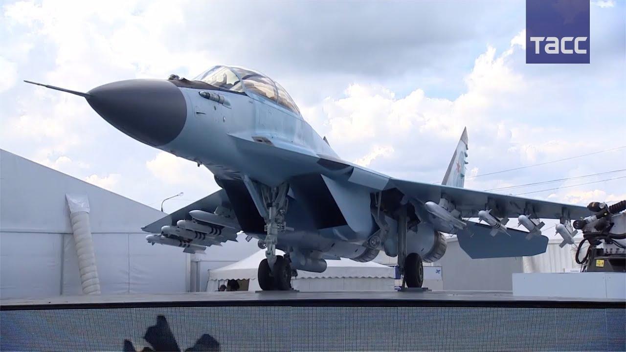 На МАКС-2017 показали в действии новейший российский истребитель МиГ-35