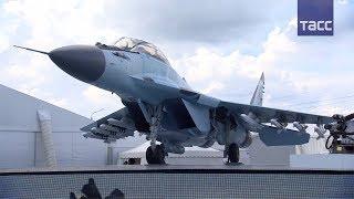 МиГ-35 показали на МАКС-2017