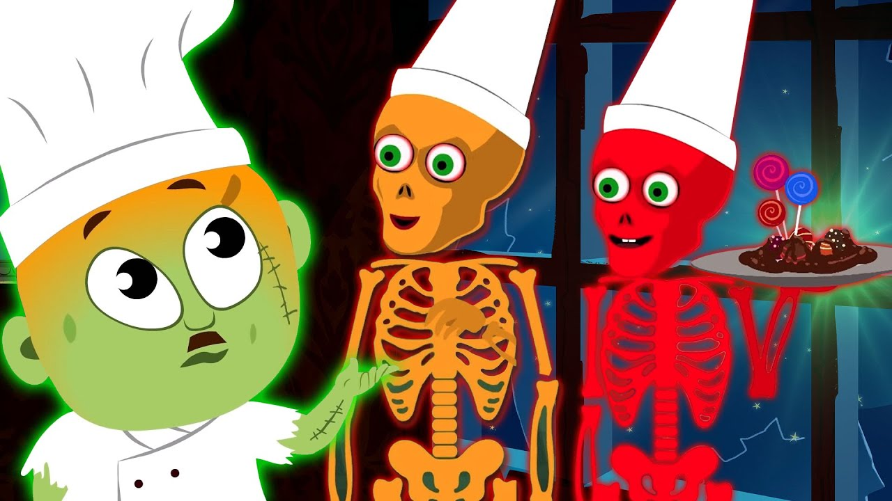 Panch Skeletons Kar Rahe The Party Ki Tayari - Hindi Songs By TeeHee Toli