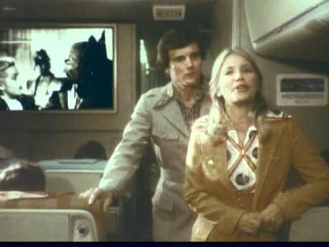 Continental Airlines Commercials,1970s