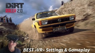 Dirt Rally 2.0 Best VR settings and gameplay