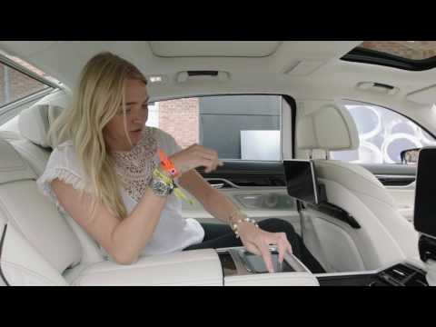 Jodie Kidd explores the BMW 7 Series at Goodwood.