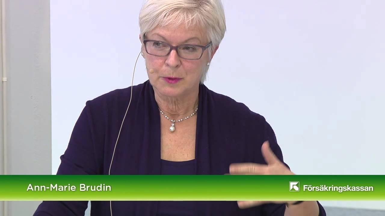 Förebyggande sjukpenning vid bröstcancer: Ann Marie Brudin