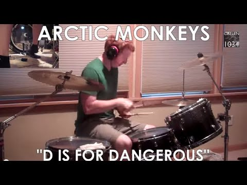 Arctic Monkeys - D Is For Dangerous Drum Cover