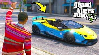 I got the FASTEST Taxi in Los Santos... Cops did not appreciate it!! (GTA 5 Mods - Evade Gameplay)