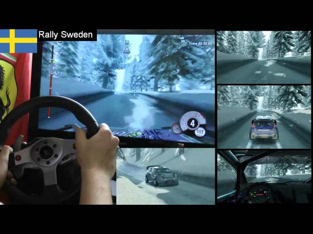 WRC 3 Sweden single stage