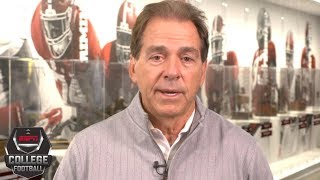 Alabama's Nick Saban, OU's Lincoln Riley excited for College Football Playoff | College Football