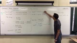 Compound Angle Identities (3 of 4: Tan)