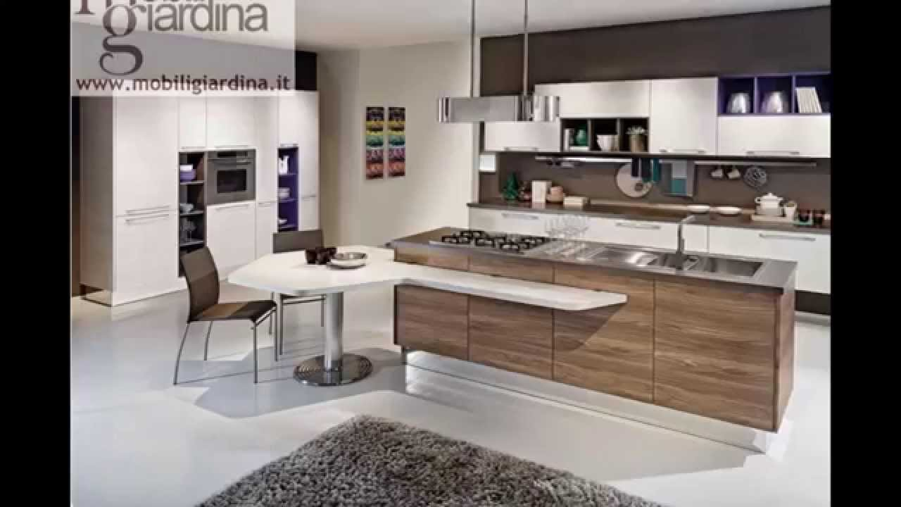 Cucine moderne lube youtube for Cucine rosse moderne