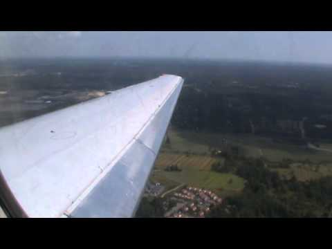 Blue1 Boeing MD-90 (leisure flight) landing to Helsinki from Izmir