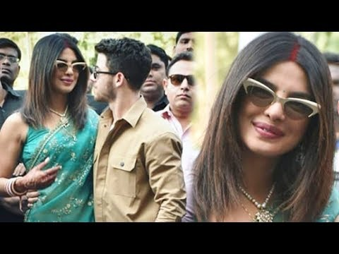 Priyanka Chopra Flaunts Sindoor After Marriage With Nick Jonas