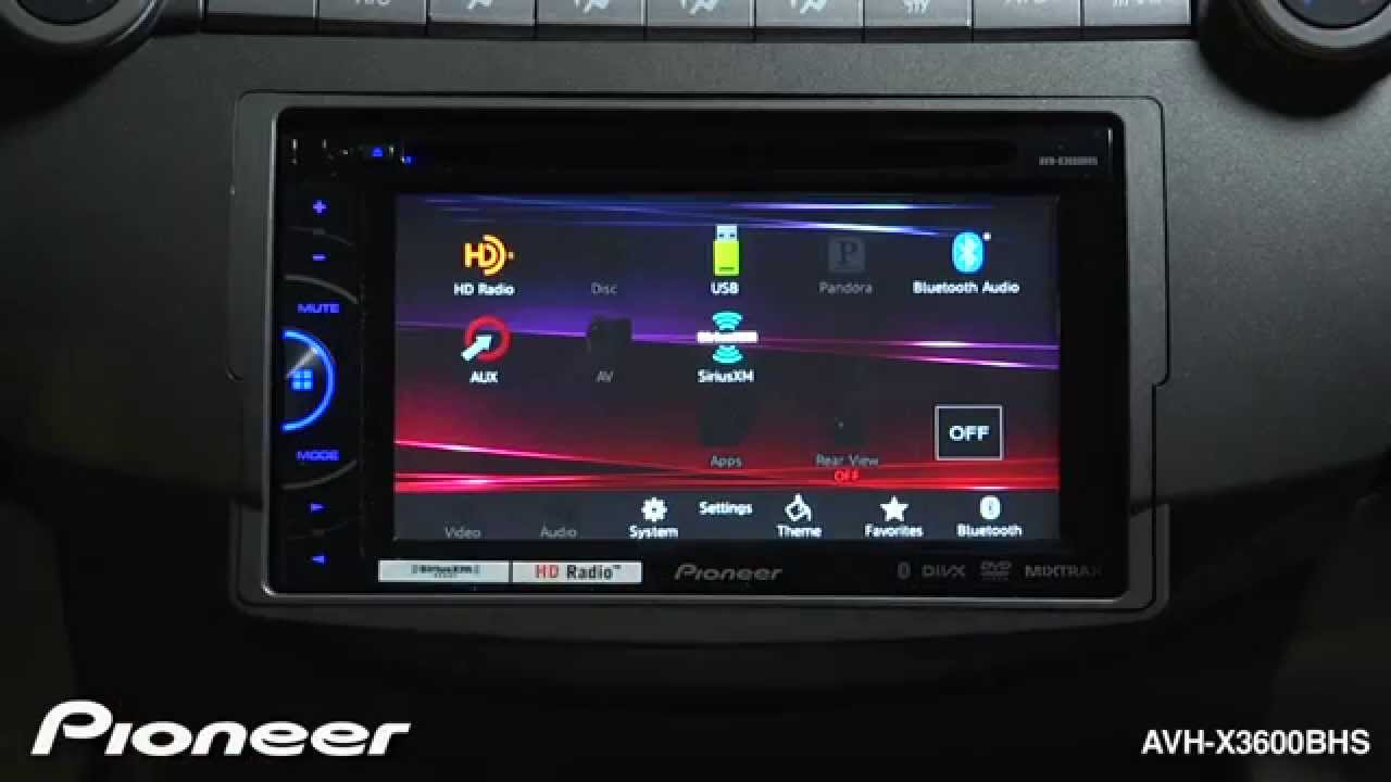 How To Avh X3600bhs Adjust The System Settings By Pioneerelectronics Pioneer P3100dvd Bluetooth