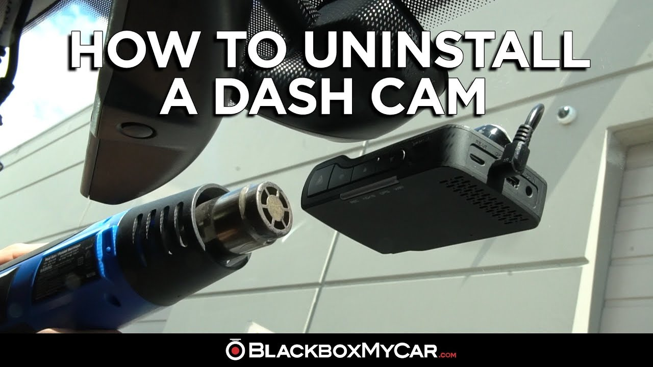 Dash Cam Mounting and Removal Guide — BlackboxMyCar
