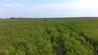 Вертолет Robinson совершил жесткую посадку в Балтасинском районе РТ(В Балтасинском районе РТ сегодня днем совершил жесткую посадку вертолет