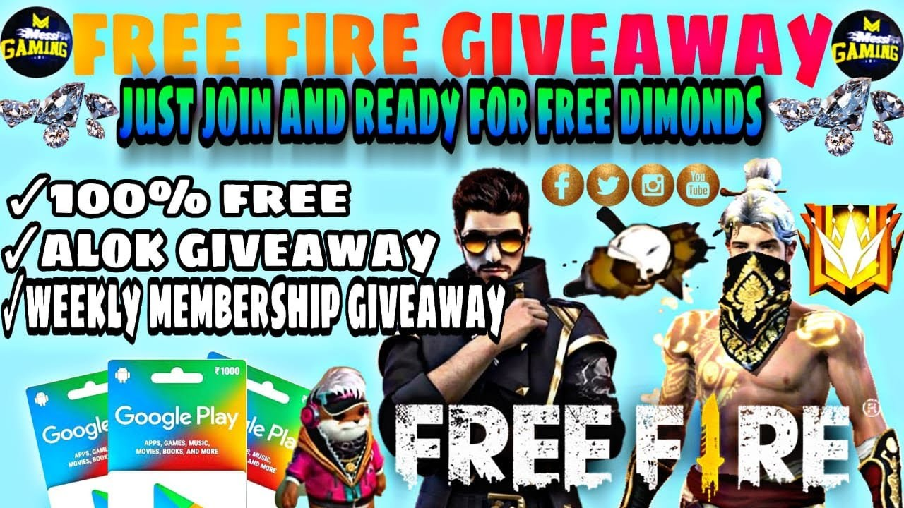 💎🔥 3 Dj Alok+ 10000 💎 giveaway,Weekly Me custom bohot sara giveaway come and join.#freefirelive