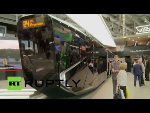 Russia: Meet the ultra-modern tram ready for the 2018 World Cup