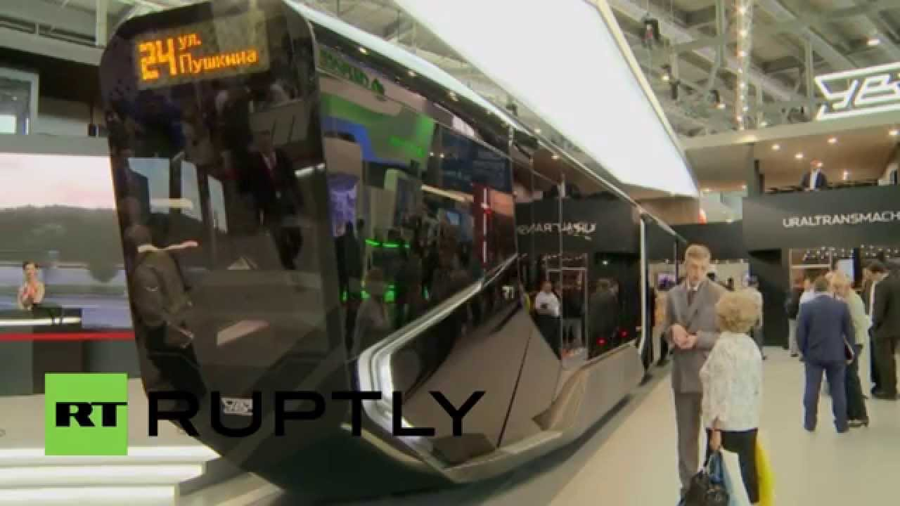 Russia Meet The Ultra Modern Tram Ready For The 2018