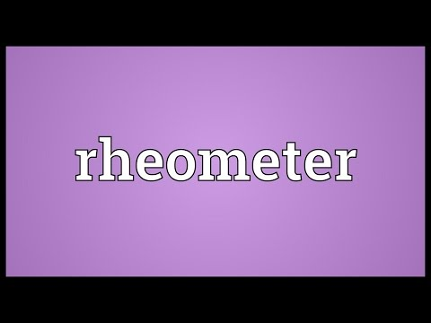 Header of rheometer
