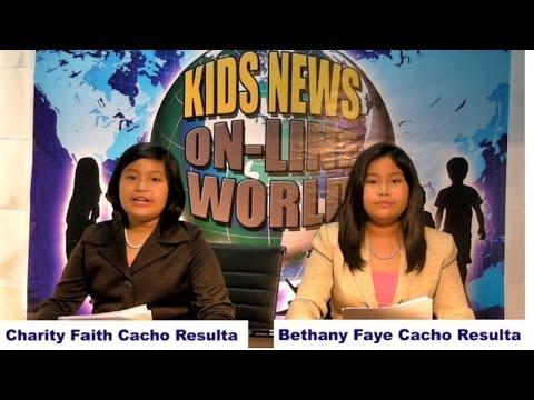 Kids News Online World Episode 1