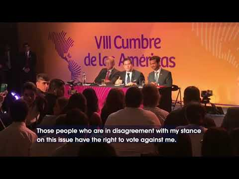 Rubio gives a lesson in democracy to Cuban journalist