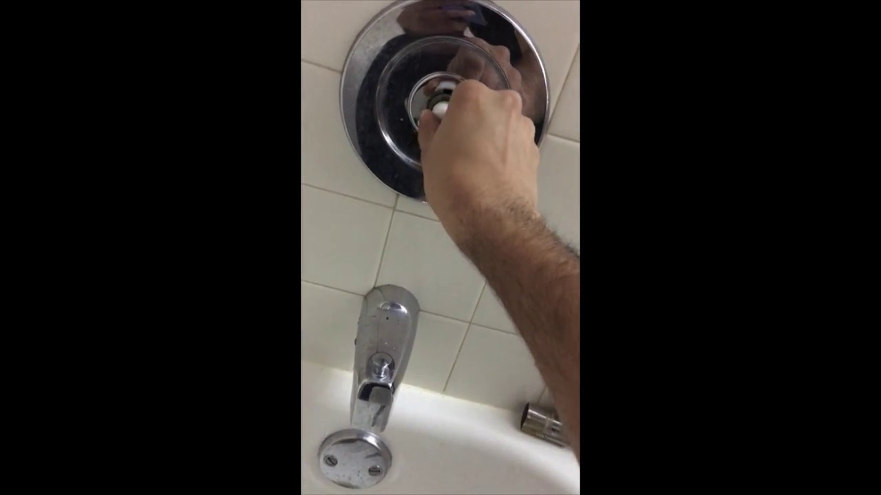 How to Replace Bathtub Faucet Cartridge - YouTube