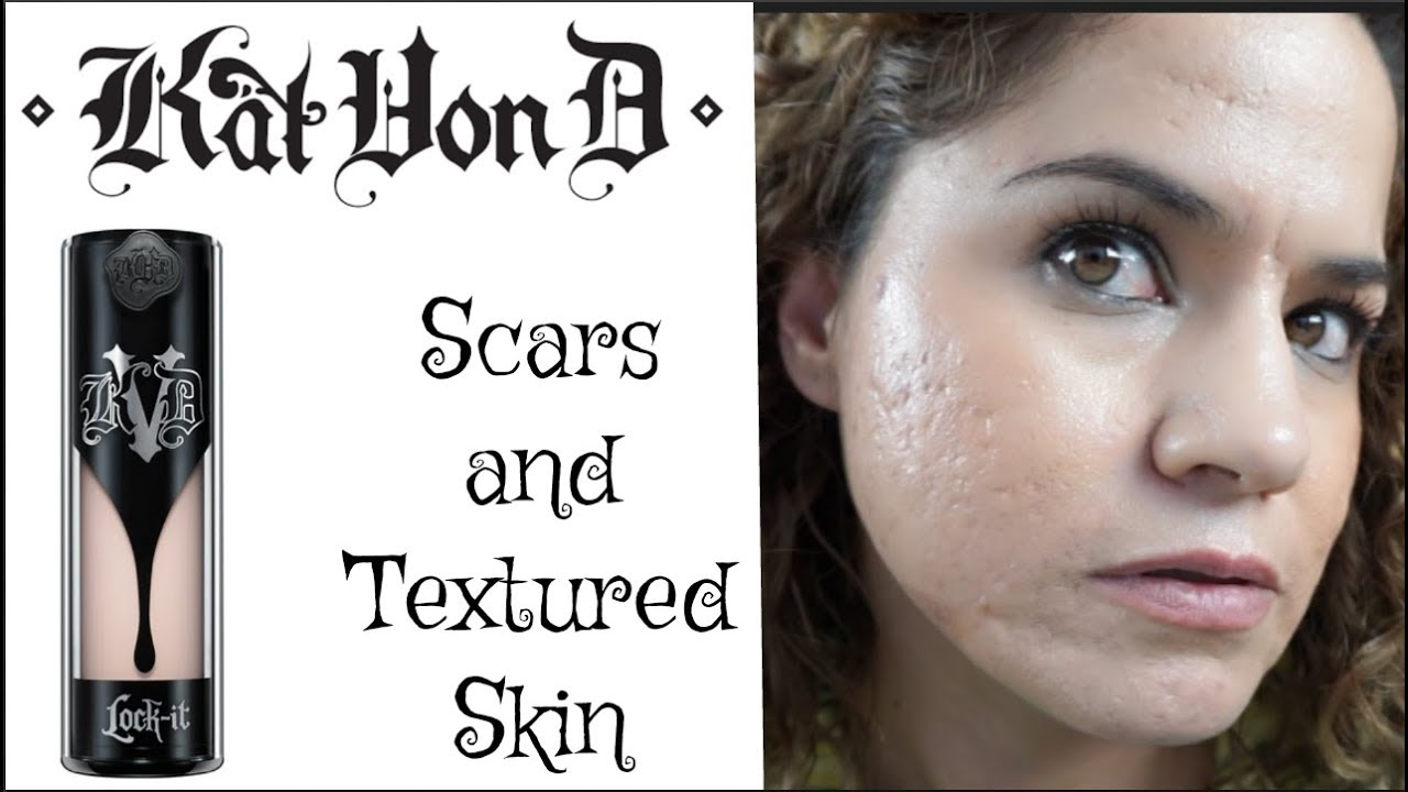 first impressions kat von d lock itfoundation acne oily scars