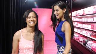 Adriana Lima Surprises Victoria's Secret Customers! thumbnail