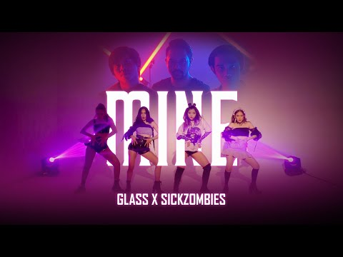 GLASS X SICKZOMBIES - MINE (OFFICIAL MUSIC VIDEO)