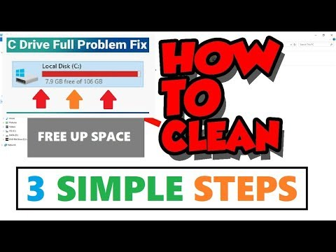 Free up Space Windows 10 - Delete JUNK Files | Clean  C Drive Temporary Files