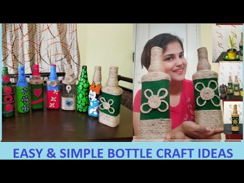 Bottle Craft Ideas | DIY Home Decor ideas | Best out of waste craft ideas