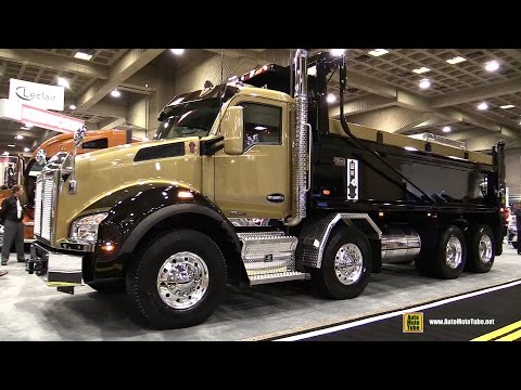 PACCAR MX loping in a Kenworth t800 by Galpin Speed Shop