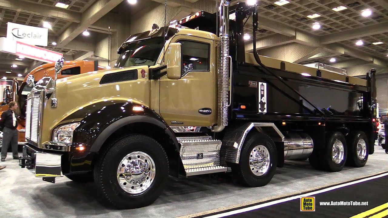 Kenworth T880 Truck With Paccar Mx 13 Engine
