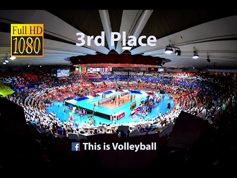 Italy vs France | 17 July 2016 | 3rd Place | 2016 FIVB Volle
