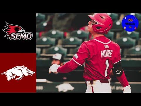 Download Southeast Missouri State vs #2 Arkansas Highlights (Crazy Game!) | 2021 College Baseball Highlights