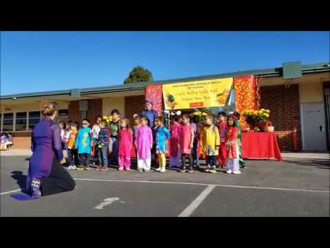 TET 2018 Celebratiơn at A.J. Cook Elementary in Garden Grove School District