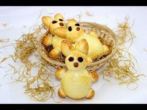 Brioche-Osterhasen (Prima für ein leckeres Osterfrühstück)