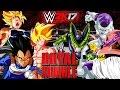 Royal Rumble con Personajes de DRAGON BALL en WWE 2K17