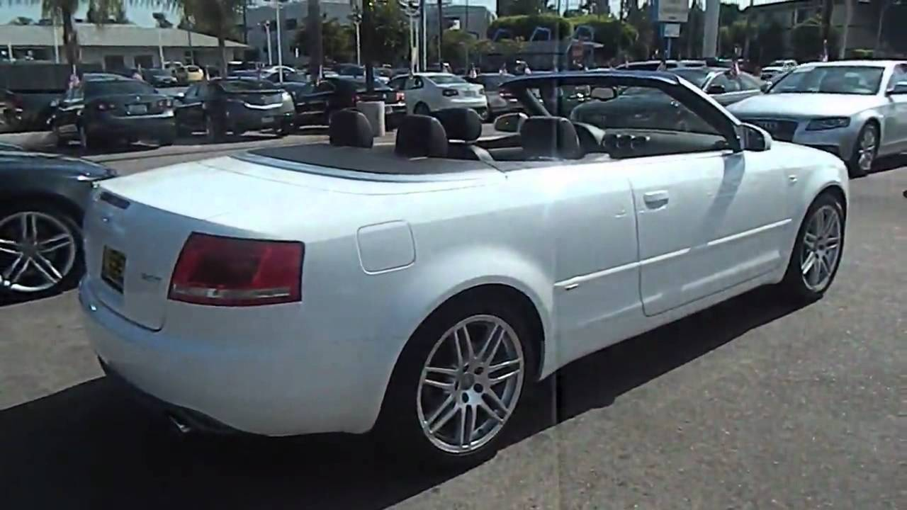 2009 audi a4 - 2.0t cabriolet 2d los angeles ca 320224 - youtube