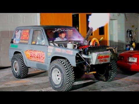 Subzero Dubai Garage (Crazy turbo cars!)