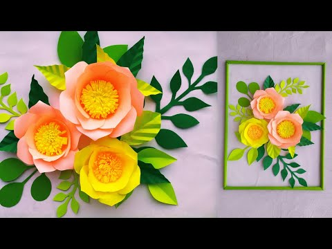 wallmate/paper wallmate/paper wall hangings/wall hanging craft ideas new/কাগজের ওয়ালমেট #8