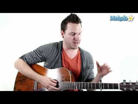 "How to Play ""Cry Me A River"" by Justin Timberlake on Guitar"