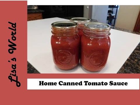 Tomato Sauce From Frozen Tomatoes Using A Roma Sauce Maker