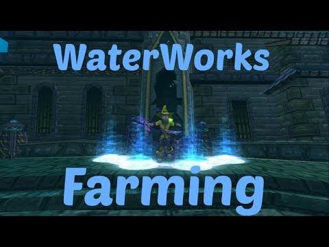 Wizard101: Waterworks Gear | Runs With Viewers