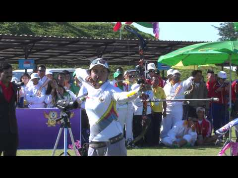 27th SEA Games -  Day 13 -  Archery Highlights -  Part 1