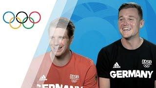 "German rower sticks to diet ""except for ice cream"""