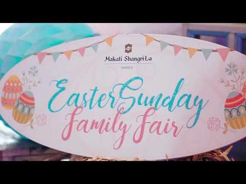 Easter Sunday Family Fair at Makati Shangri-La, Manila