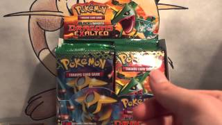 Pokemon Opening - Dragons Exalted Booster Box thumbnail