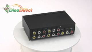 MAITUO MT-431AV 4 Port Video Audio Switch  from Dinodirect.com