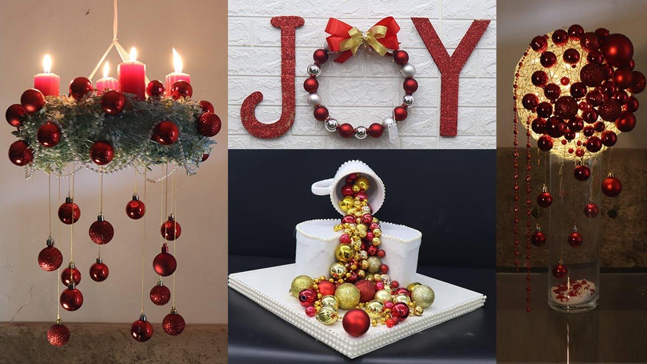 Christmas 2021 Decorating Ideas 10 Christmas Decoration Ideas At Home Christmas Decoration Ideas 2021 Youtube