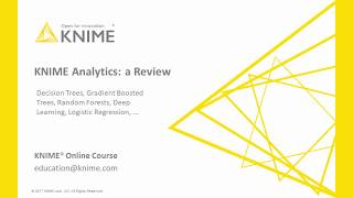 KNIME Analytics: a Review
